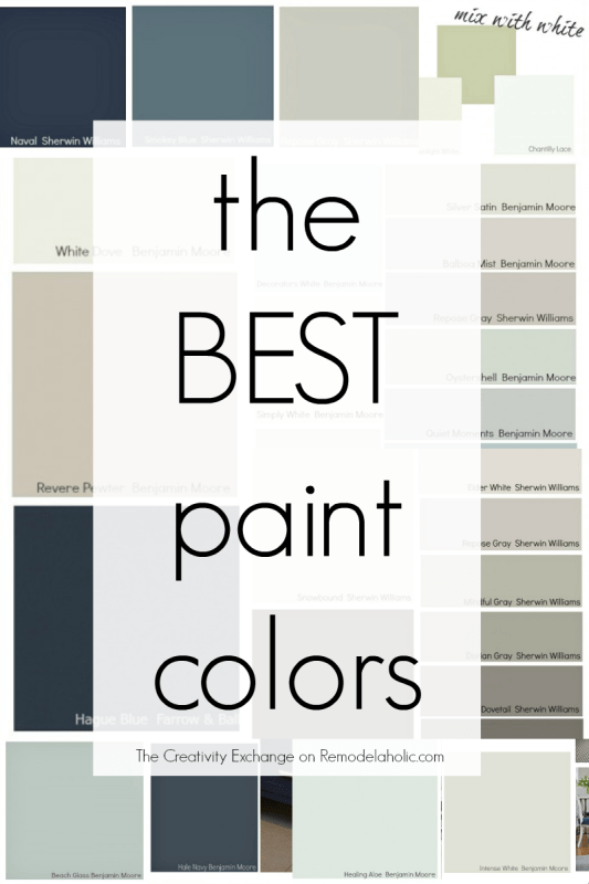 top paint colors 2015
