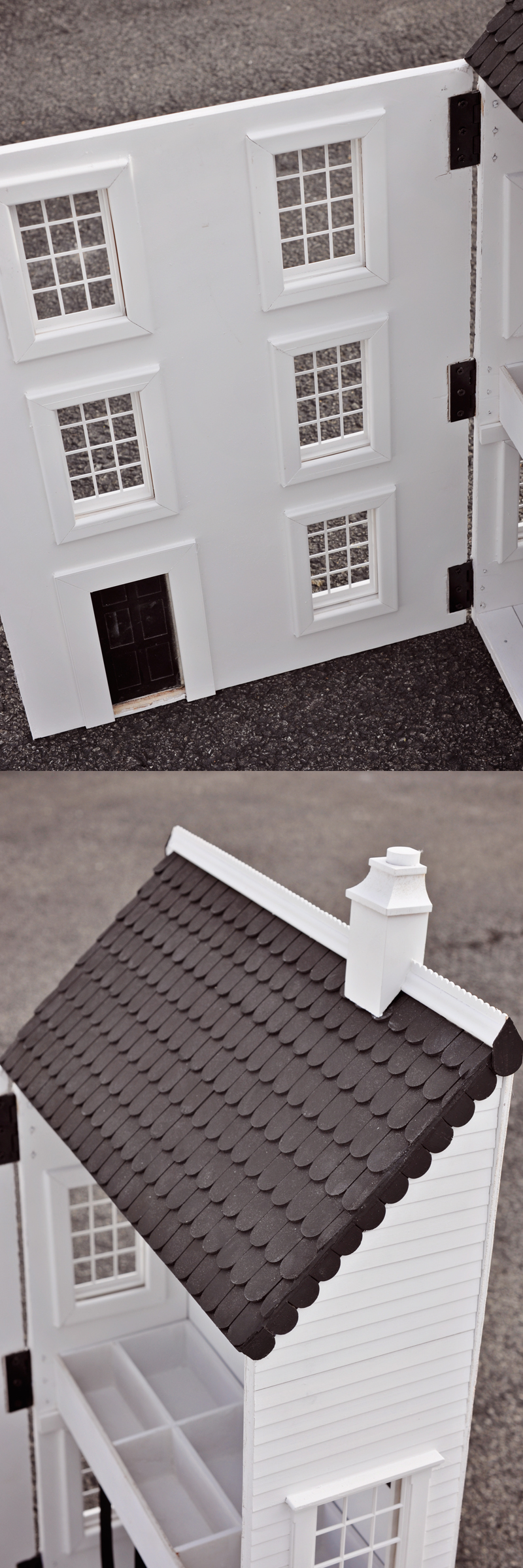 Build a dollhouse and store hair accessories inside! So cute for art supplies or other girly treasures, too. Tutorial on Remodelaholic.com