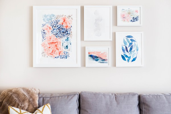 How To Bring The Color Of The Year Into Your Home With Minted Art (2)