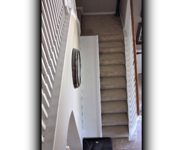 10 Kids stair slide, DIY Tutorial by Decor Allure featured on @Remodelaholic