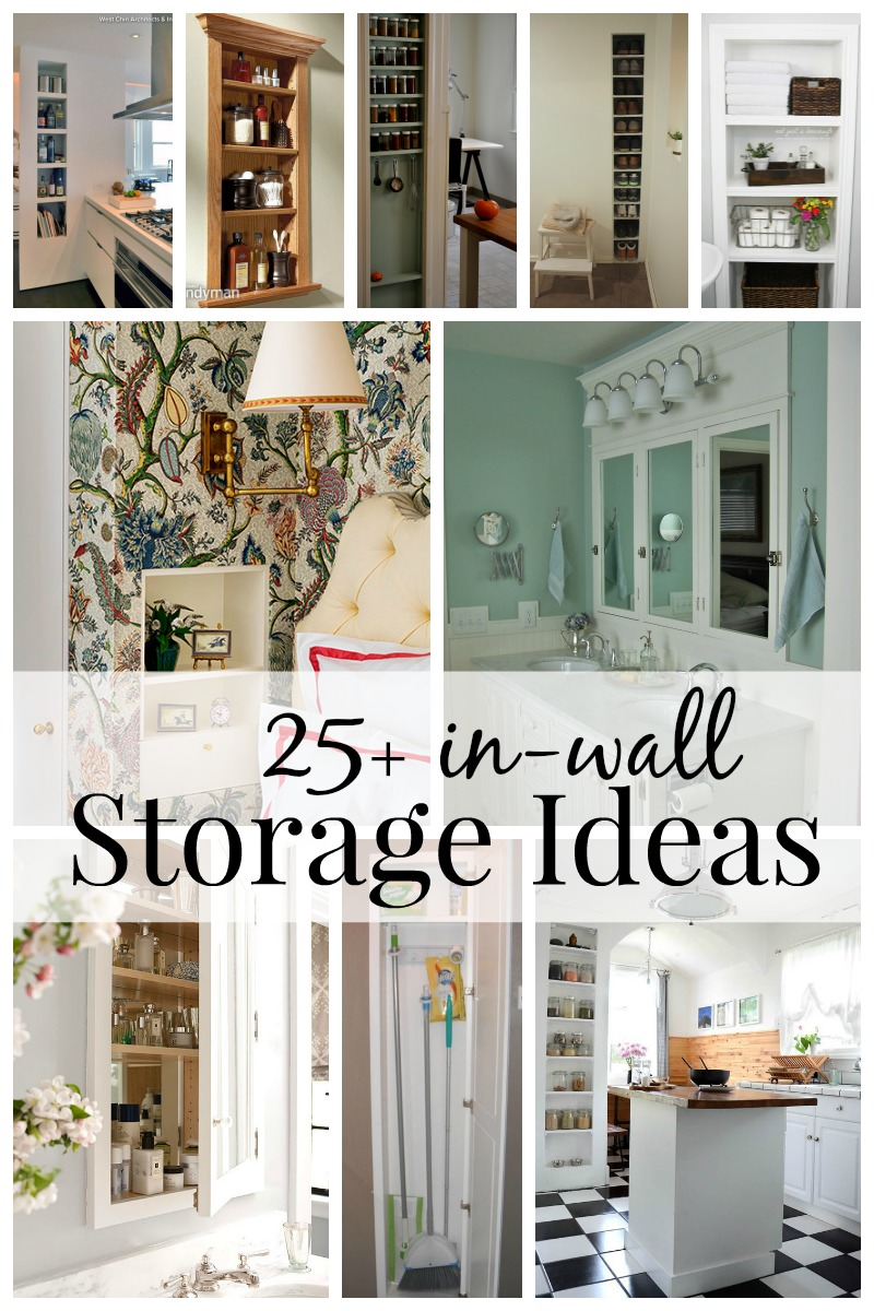 Merveilleux 25+ In Wall Storage Ideas Via Remodelaholic.com