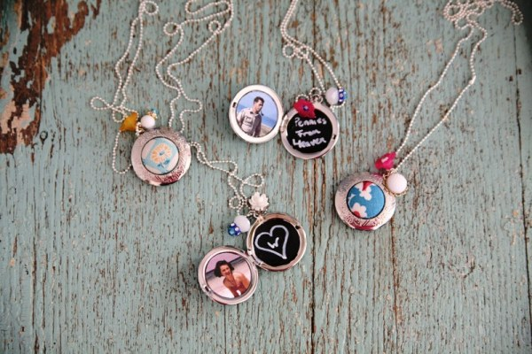 Chalkboard lockets