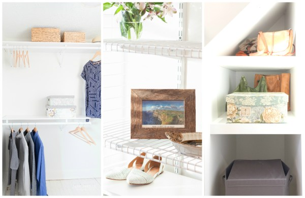 Dreamy! Create a beautiful boutique-style walk-in closet. Cape Cod Walk In Closet by Tera Janelle on @Remodelaholic