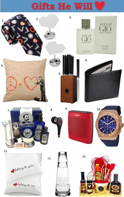 Valentine Gift Ideas for Him, Her, or Them
