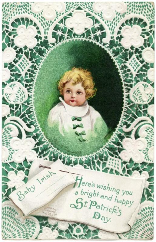 Vintage St. Patrick 18