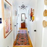cheery vintage eclectic hallway makeover- refreshed in 3 short weeks