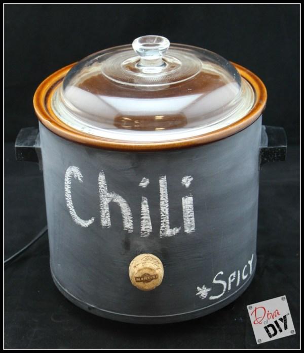 chalkboard slow cooker