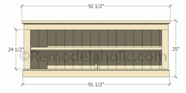 console sideboard table plans-1 @remodelaholic (3)