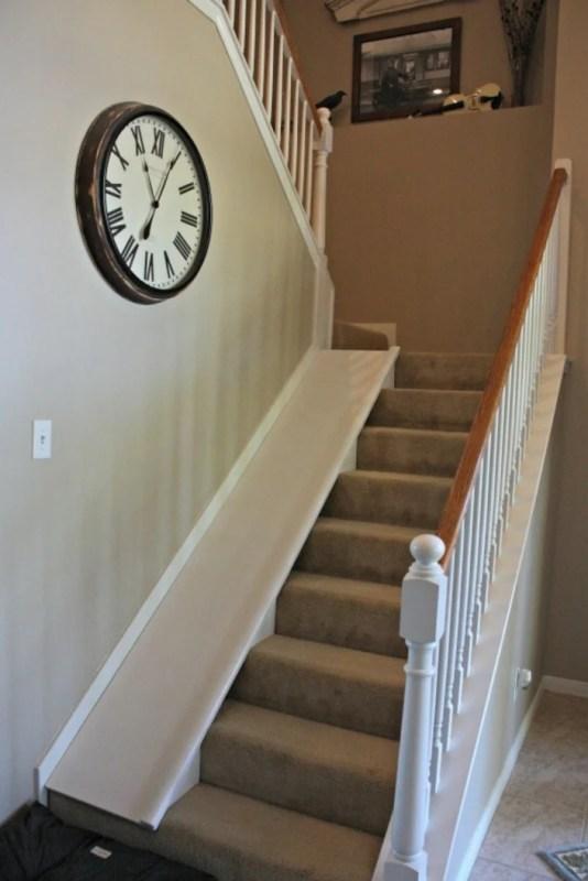 DIY Stair Slide