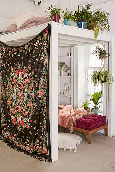 Floral Tapestry Wall Hanging by Urban Outfitters