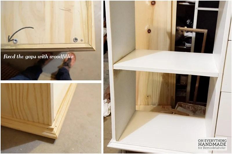 IKEA RAST Hack 101- attaching border and shelving