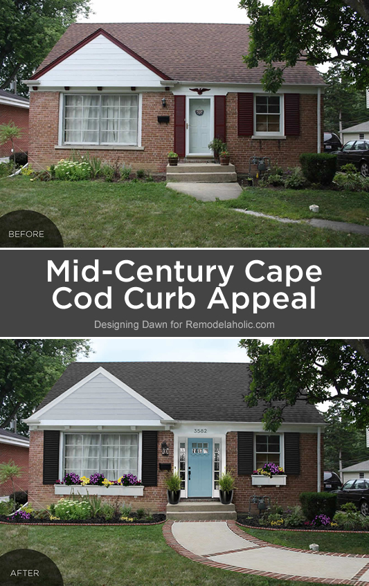 remodelaholic reader question mid century cape cod curb appeal