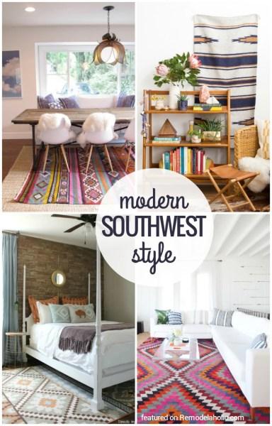 Modern Southwestern Style Inspiration and Tips @Remodelaholic