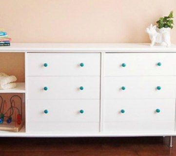 Double The Fun! IKEA Rast Dresser Hack