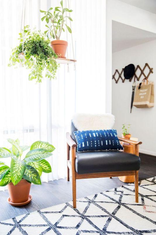 minimalist southwest living room via Domino, photo Michael Wiltbank