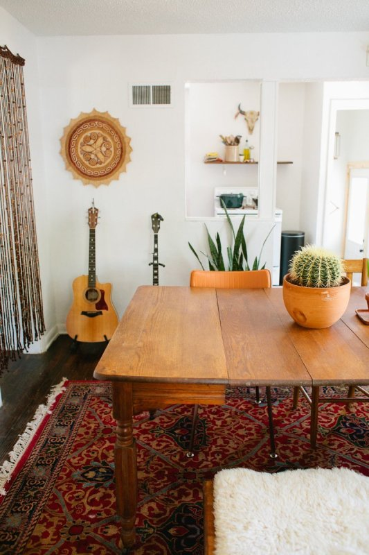 southwestern bohemian eclectic style via Apartment Therapy