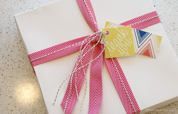 Gift Tag printable with Canon printer by @remodelaholic-7