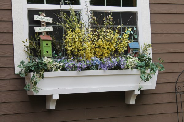 diy window box planter tutorial