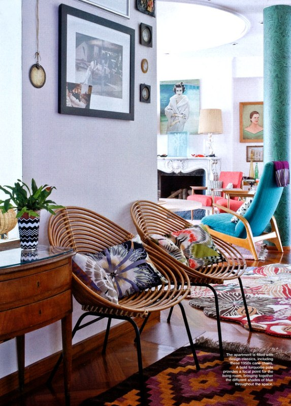 Tropical style chairs   Modern Tropical Style on Remodelaholic.com