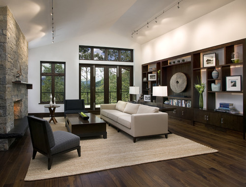 Pictures Dark Walnut Floors White Trim