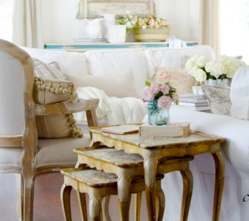 Inspiration File: Pretty Floral French Style