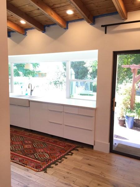 ikea kitchen cabinet renovation @Remodelaholic