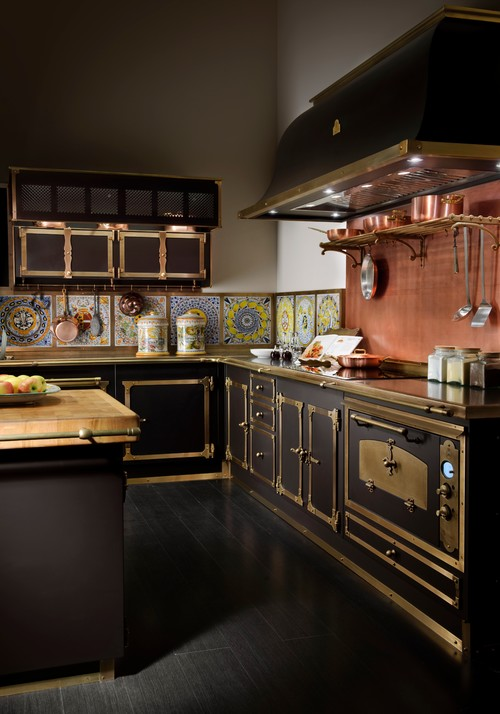 victorian steampunk kitchen via houzz