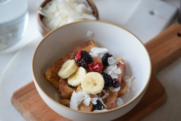 Simple and delicious french toast bowl recipe