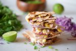 Chicken Taco Quesadillas