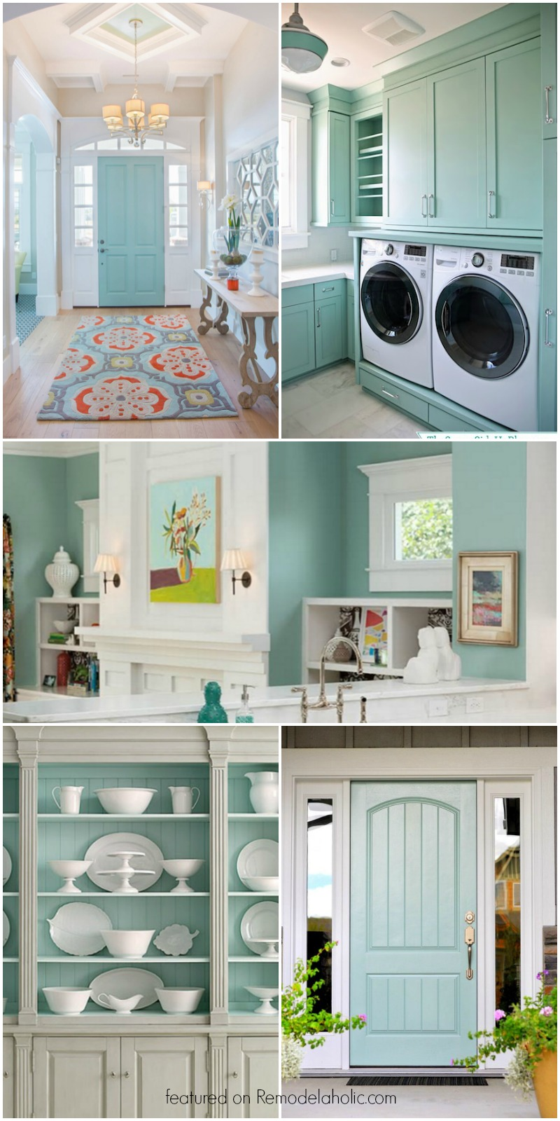 Remodelaholic Color Spotlight Wythe Blue From Benjamin