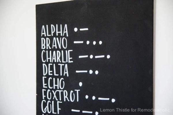 alphabet wall art-RM-1605169