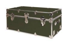 army style footlocker trunk