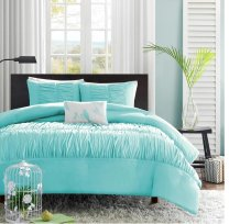 bedding aqua amazon