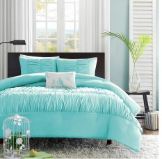 bedding aqua amazon