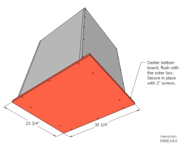 how to make a concrete planter box