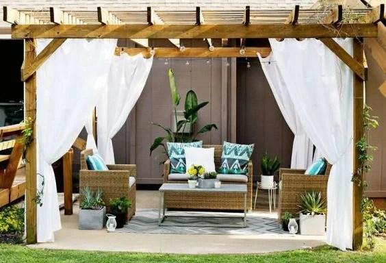 Pergola Makeover Inspiration | Found on architectureartdesigns.com