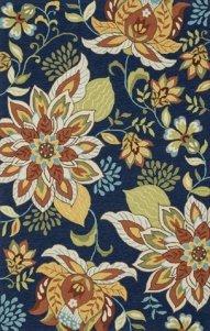 rug floral navy amazon