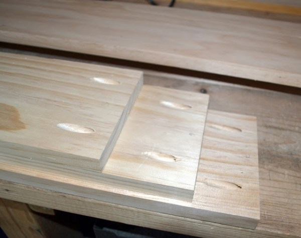 How to build a table top to cover your existing damaged table by Rachel Teodoro at Holy Craft featured on @Remodelaholic