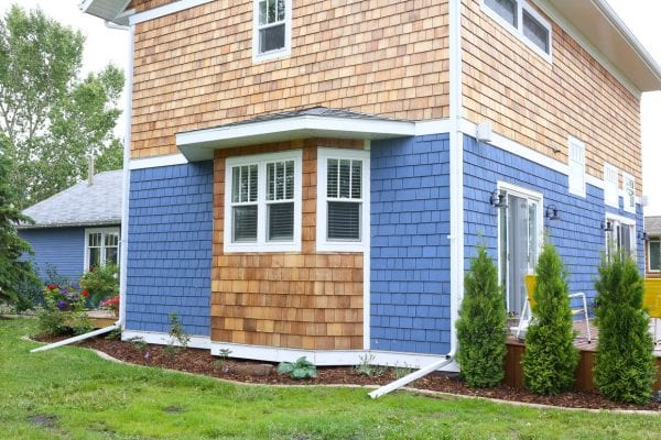 cedar exterior cottage home curb appeal