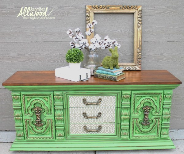 apple green buffet the magic brush inc jennifer allwood
