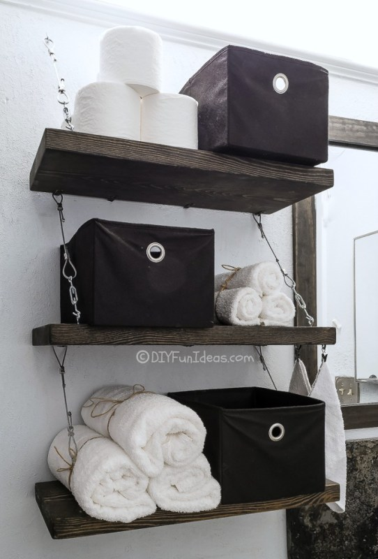 diy cable suspension shelves, DIY Fun Ideas