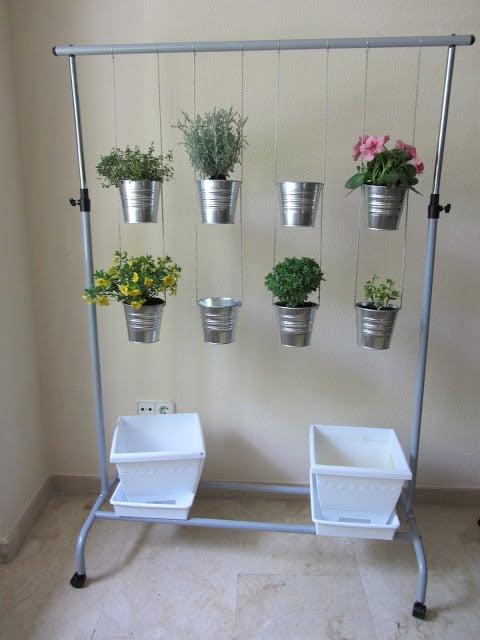 Hanging Herb Pots Ikea