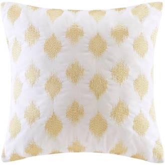 Gold Metallic Square Pillow