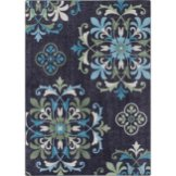 Alessia Blue Floral Rug// buy it here