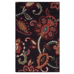 Exploded Floral Area Rug// buy it here