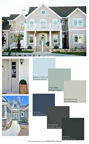 Exterior paint colors that add curb appeal