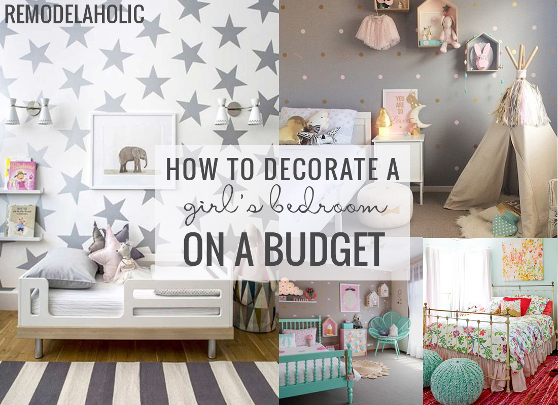 Decorate A Girl's Room on a Budget, Postbox Designs