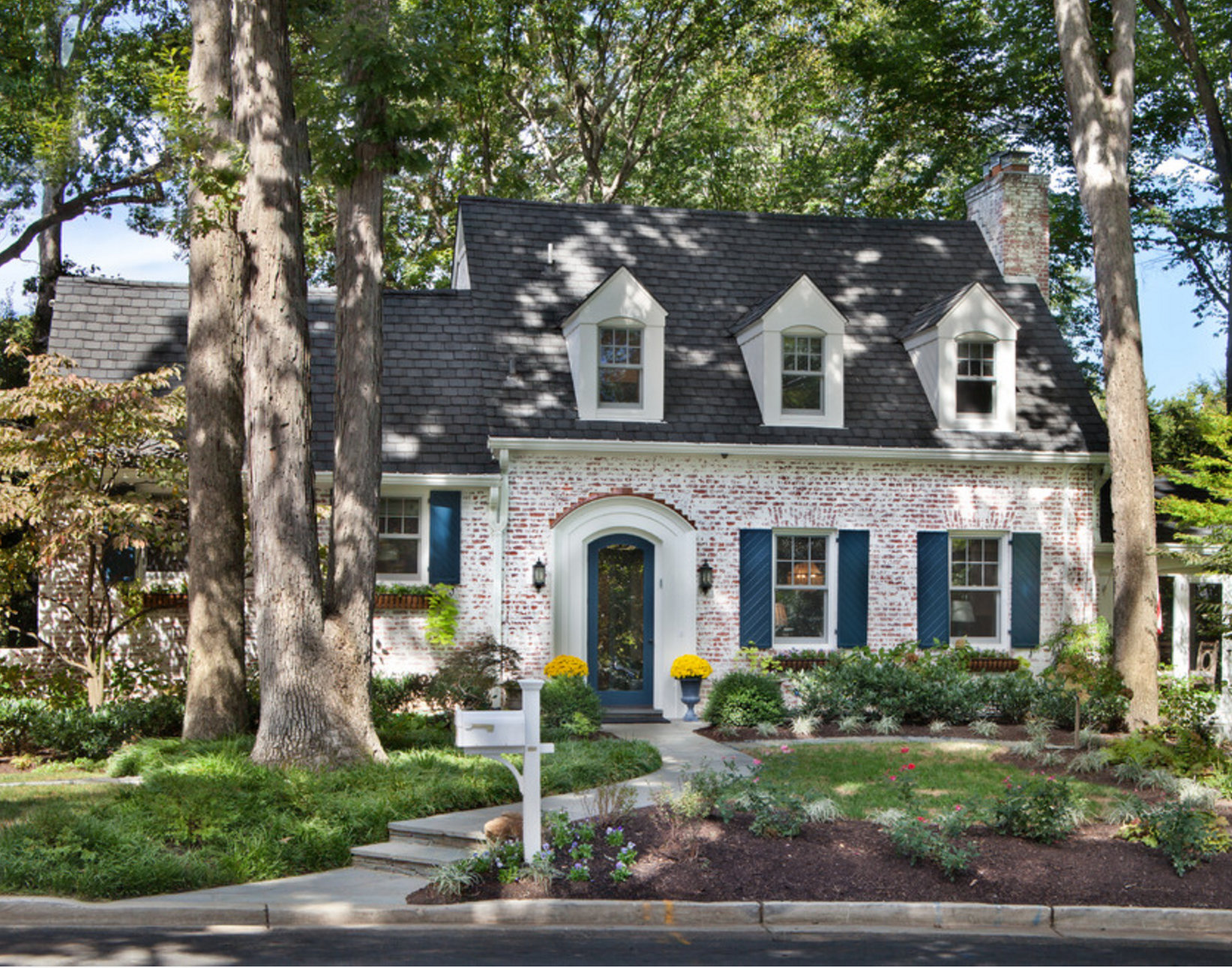 Remodelaholic | Exterior Paint Colors that Add Curb Appeal on