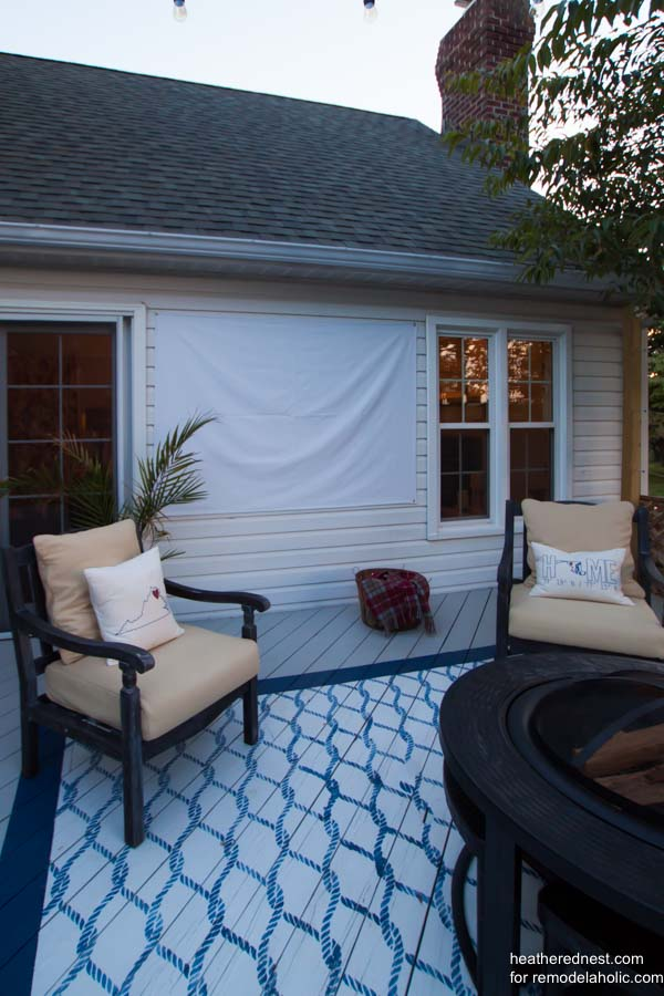 DIY-outdoor-movie-screen-heatherednest.com-2