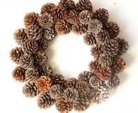 Image result for wreath pine cone